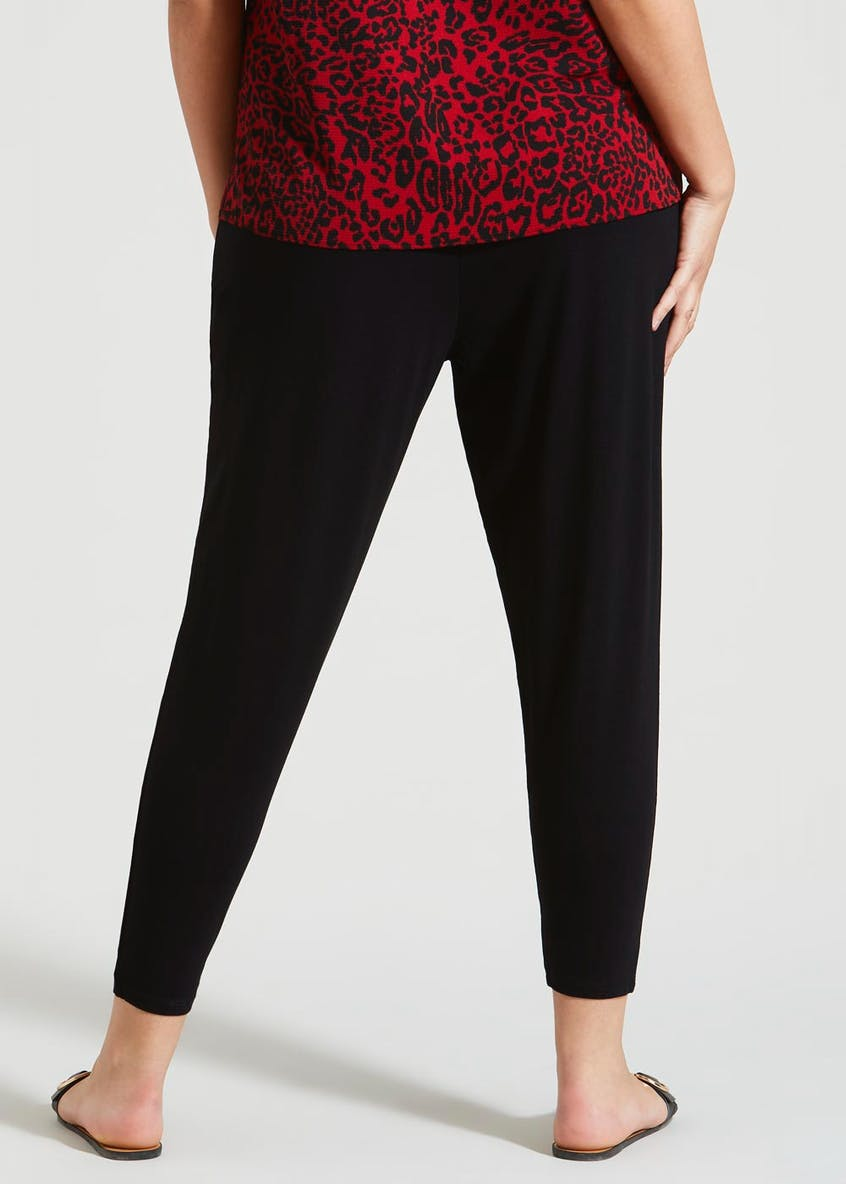 Papaya Curve Harem Trousers