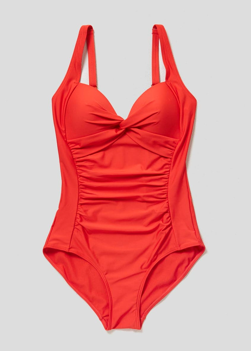 Soon Knot Front Swimsuit