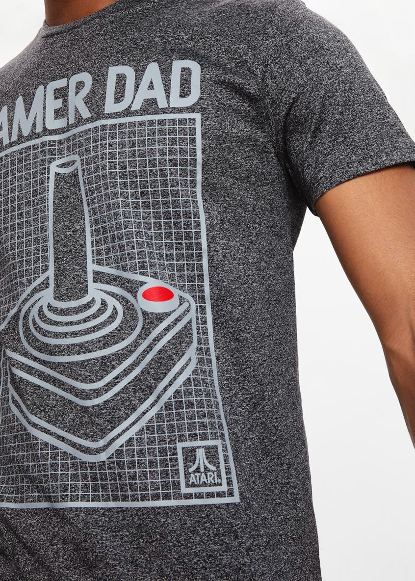Gamer Dad Slogan T-Shirt