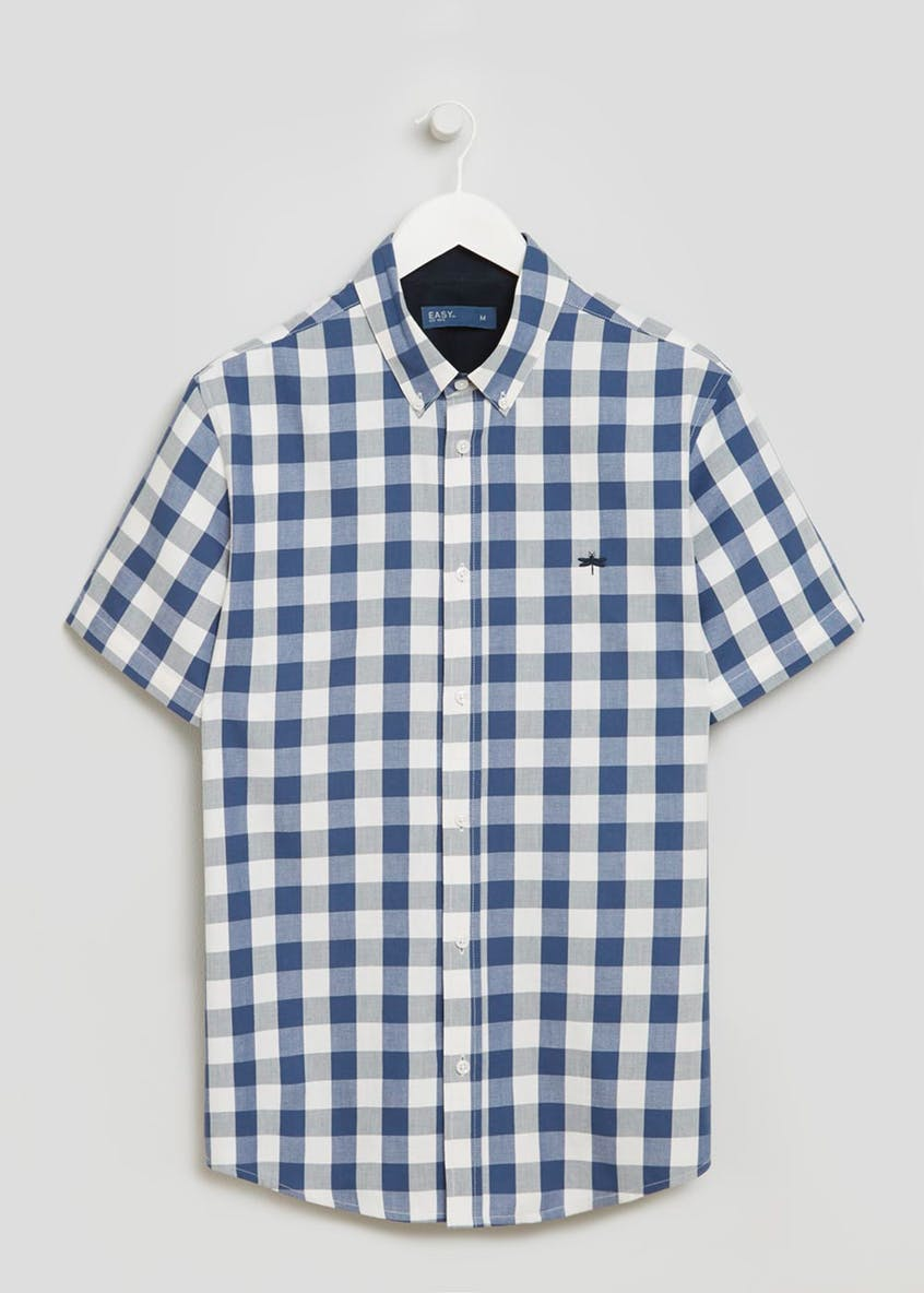 Short Sleeve Buffalo Check Shirt