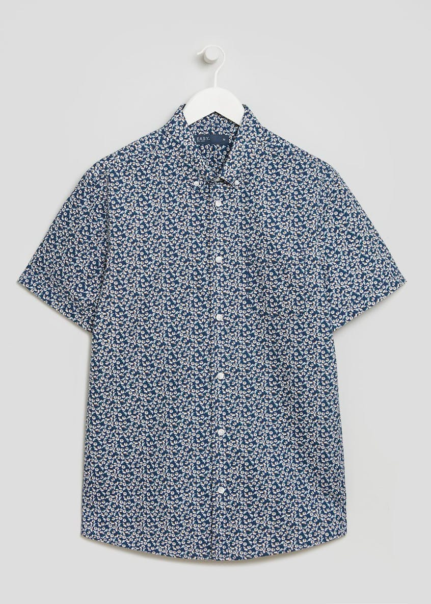 Short Sleeve Daisy Floral Shirt