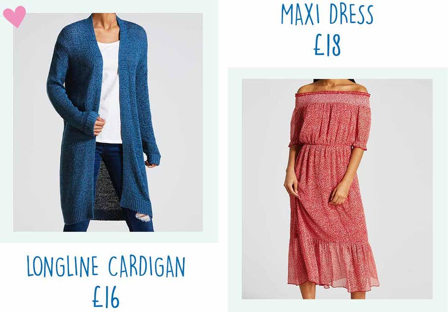 6beb686d30030 I usually struggle to find maxi dresses that look the right length.  However, during pregnancy I found ...