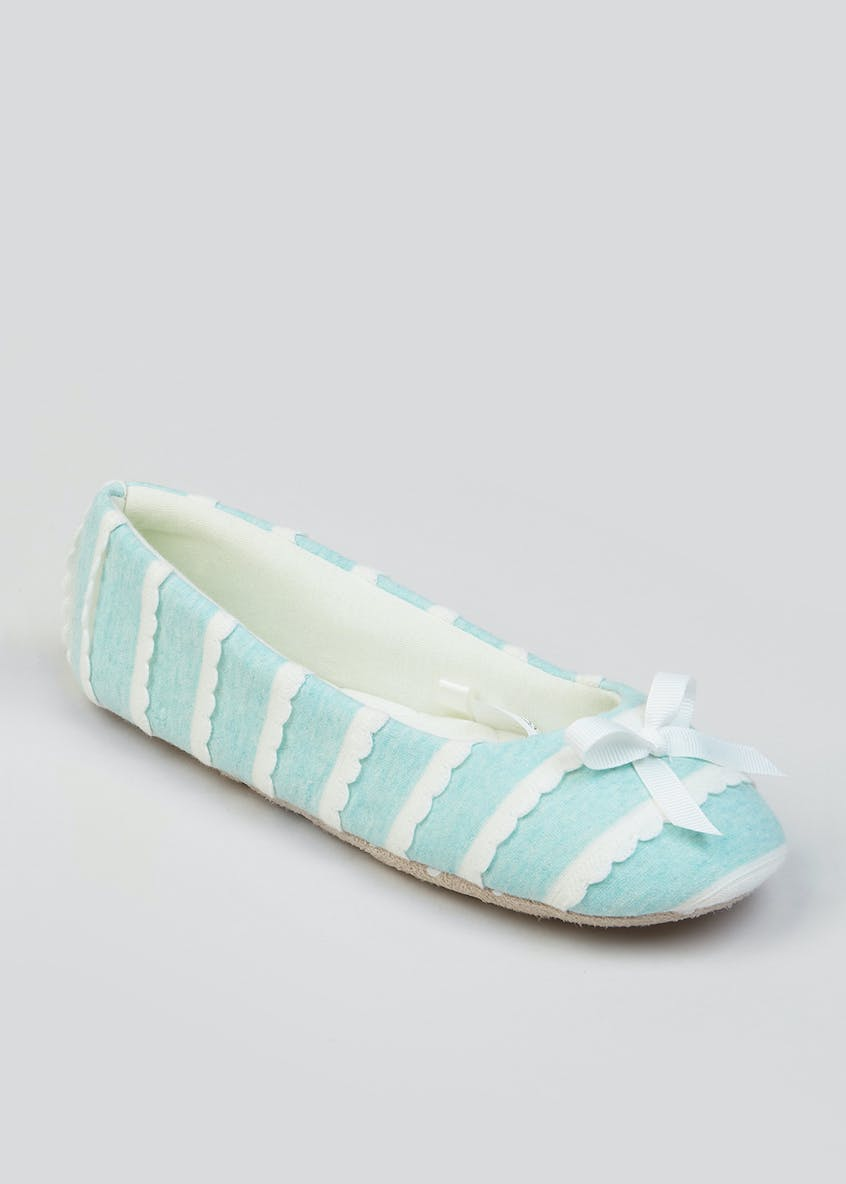 Scallop Ballet Slippers