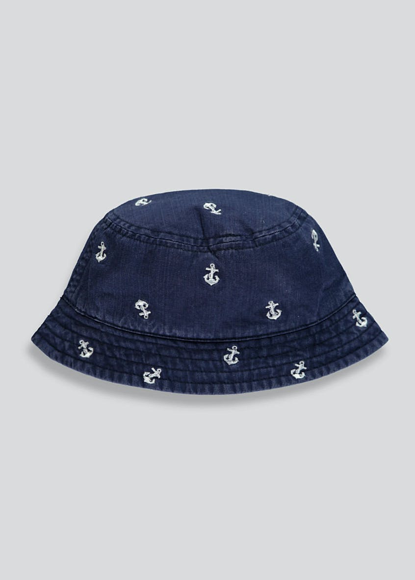 Kids Anchor Sun Hat (6mths-4yrs)