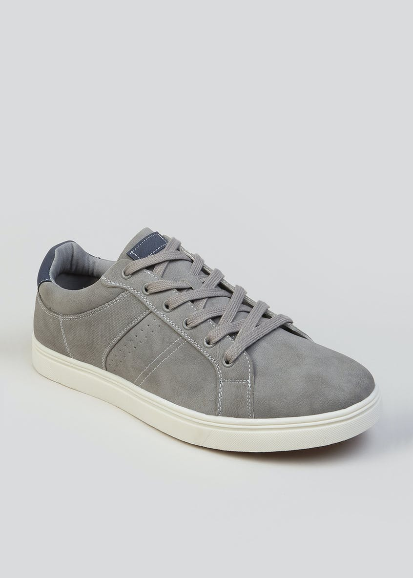 Lace Up Cupsole Trainers