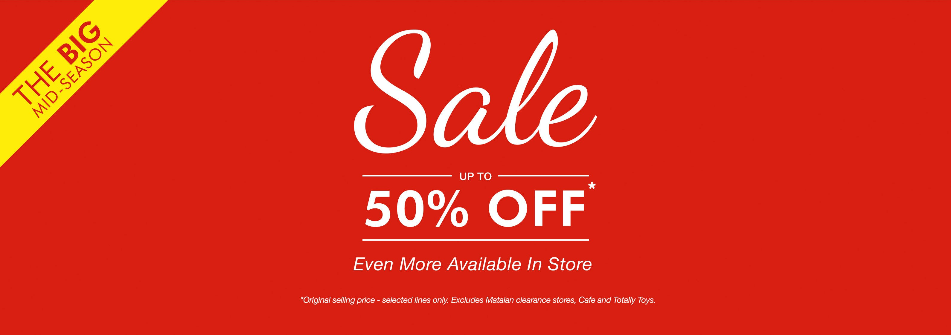Matalan Sale Up To 50 Off Sale Now On Matalan