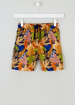 432dd43a8 Mini Me Boys Jungle Print Swim Shorts (4-13yrs)