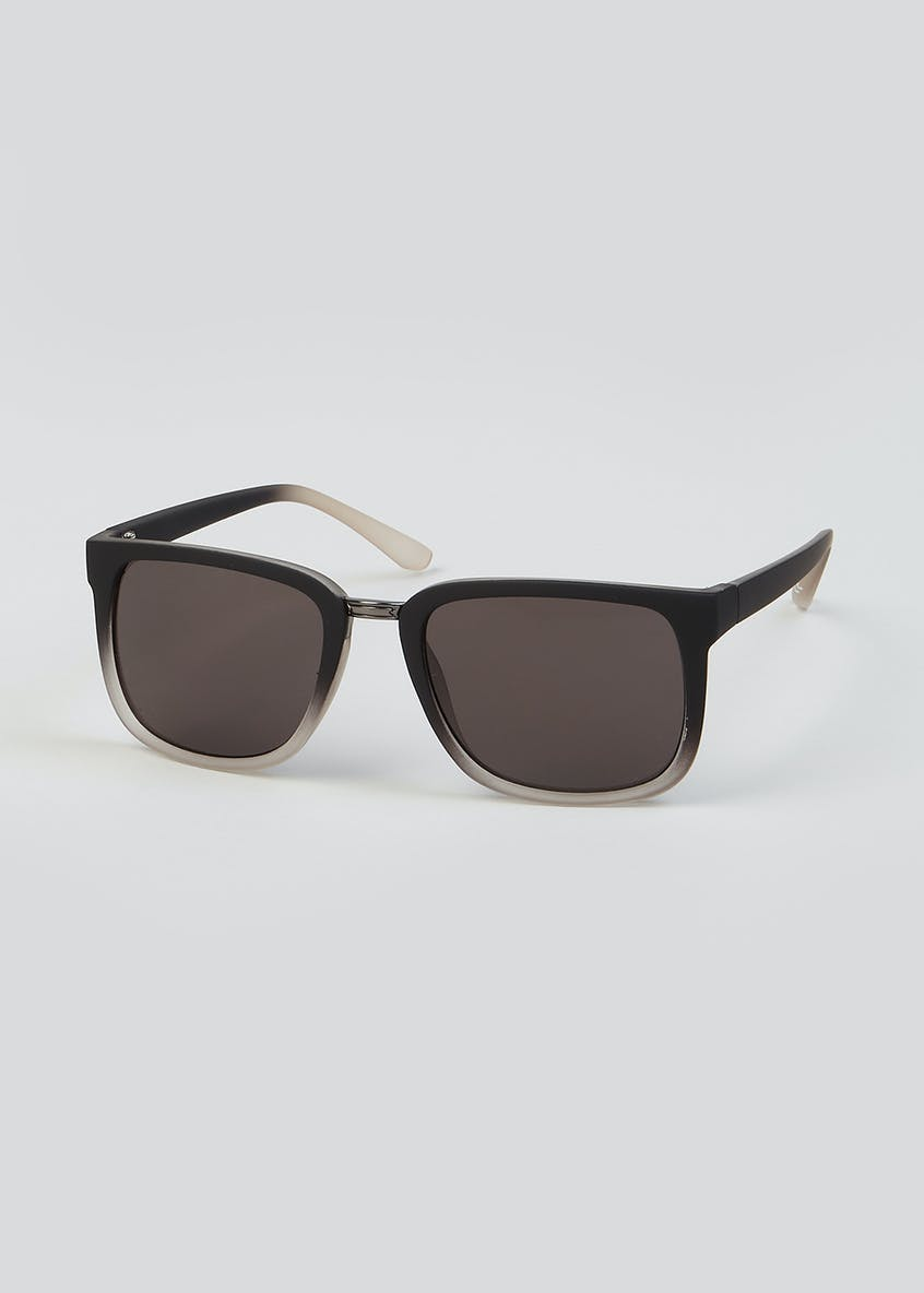 Two-Tone Wayfarer Sunglasses