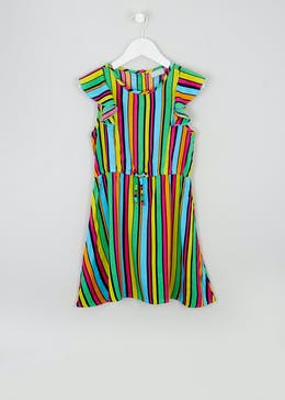 Mini Me Girls Stripe Dress (4-11yrs)