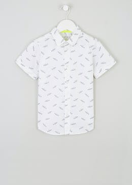 Boys Shark Print Shirt (4-13yrs)