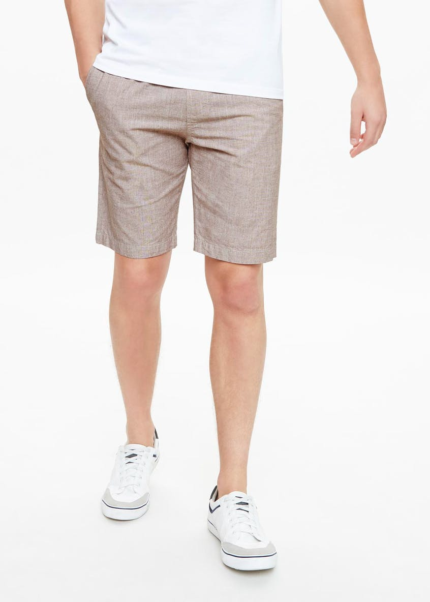 Textured Shorts
