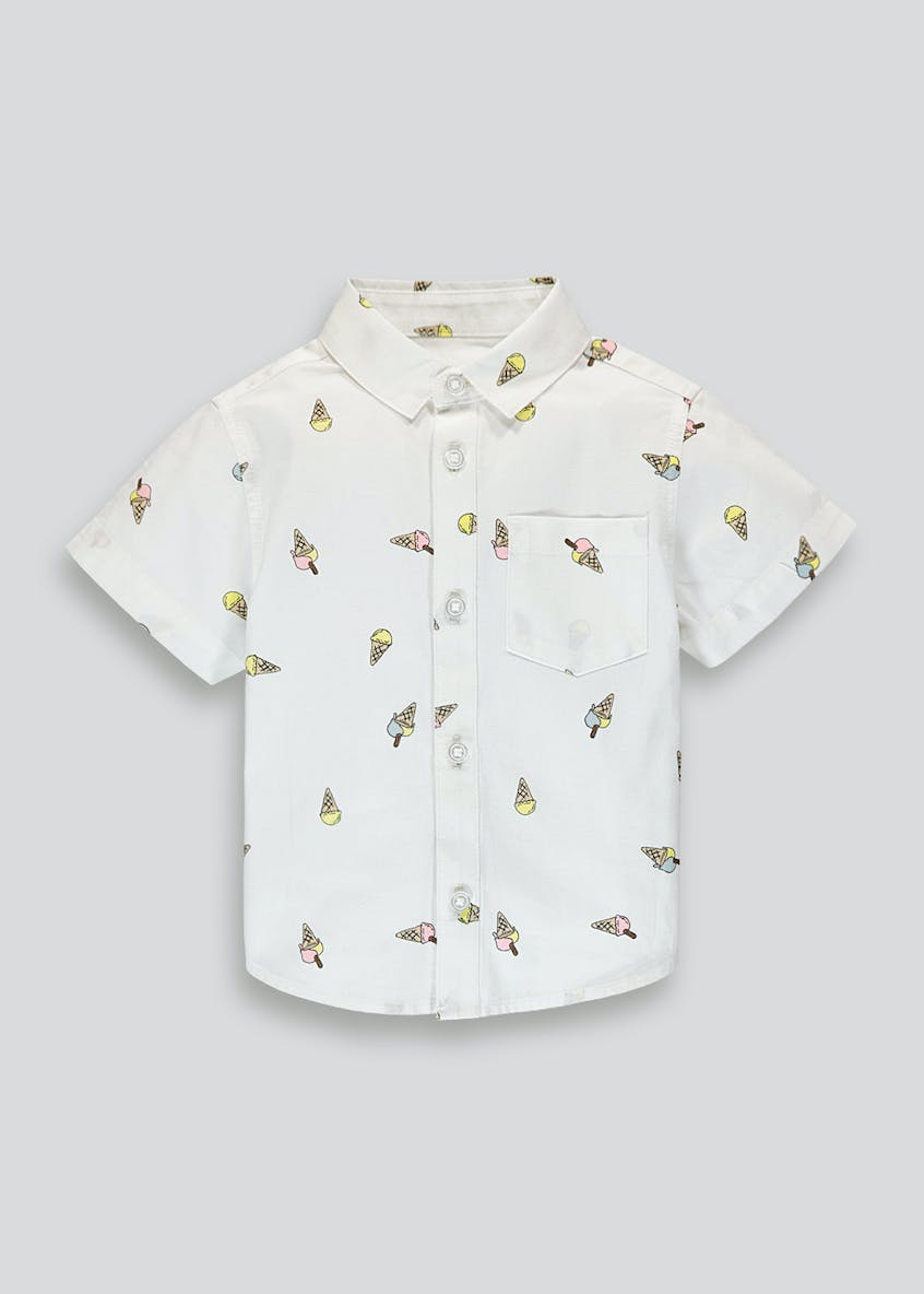 Boys Ice Cream Print Shirt (9mths-4yrs)