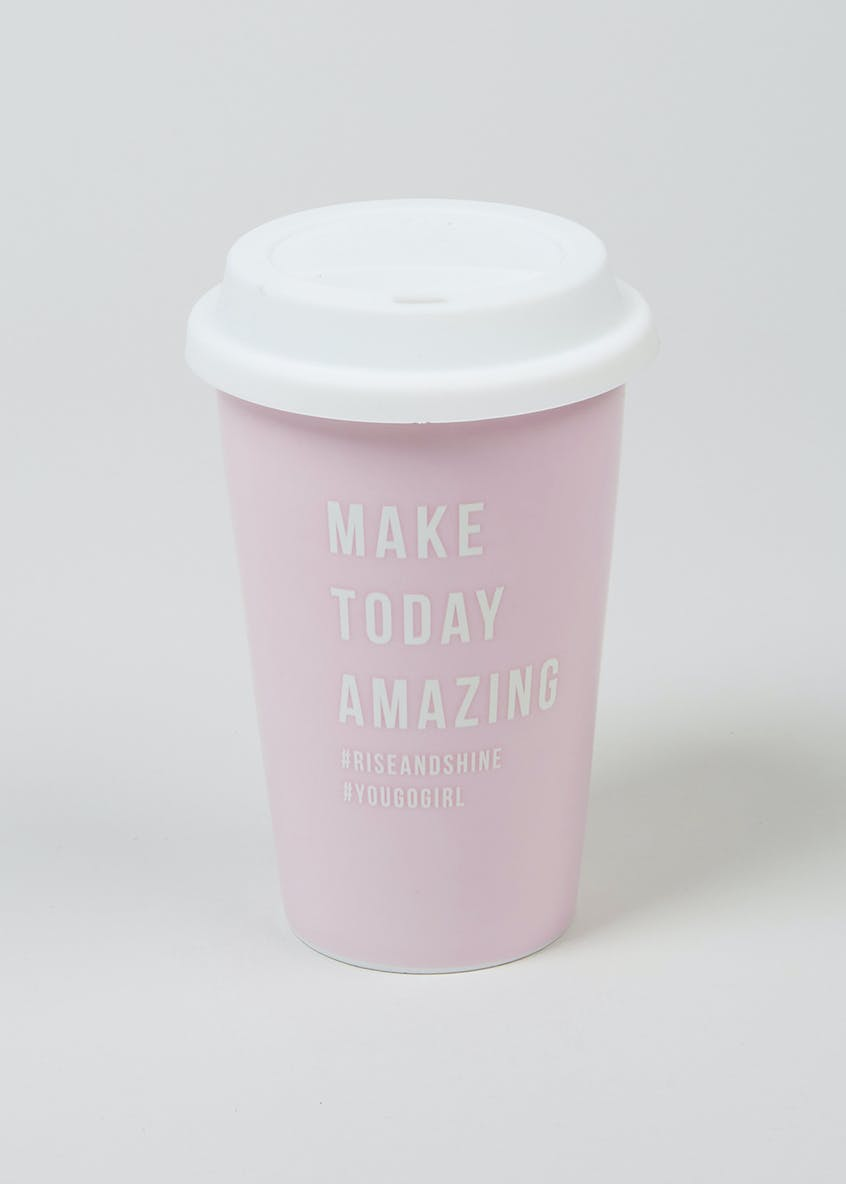 Slogan Travel Coffee Cup (250ml)