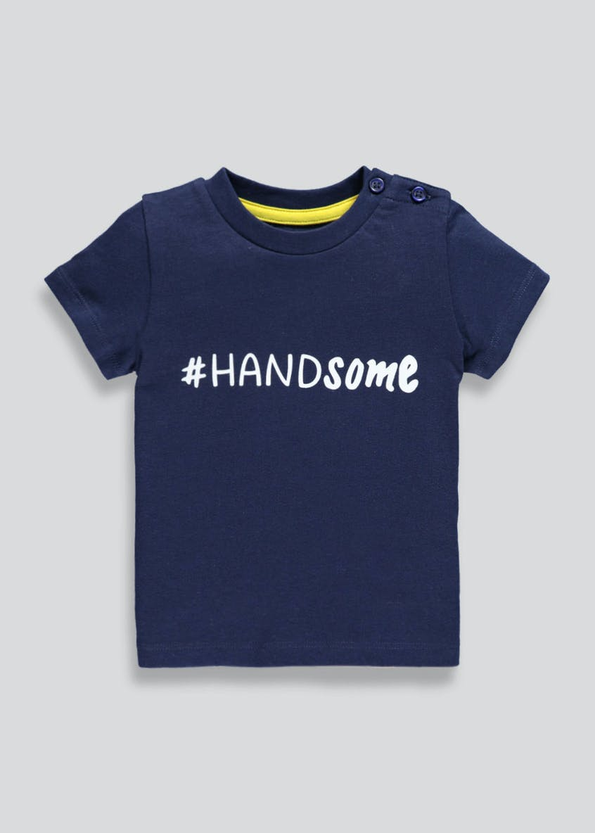 Boys Handsome T-Shirt (Newborn-18mths)