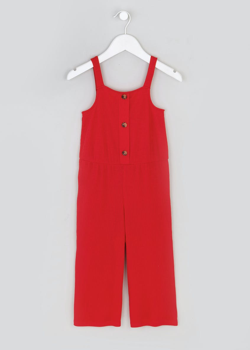 Girls Candy Couture Ribbed Button Front (4-13yrs)