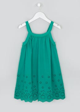 Girls Broderie Dress (4-13yrs)
