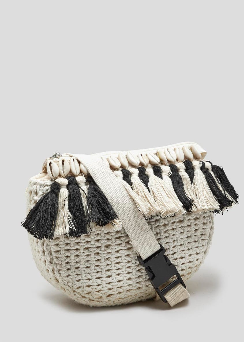 Shell Tassel Bum Bag