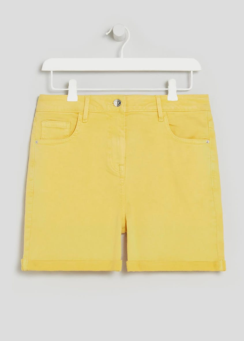 Soft Touch Denim Shorts