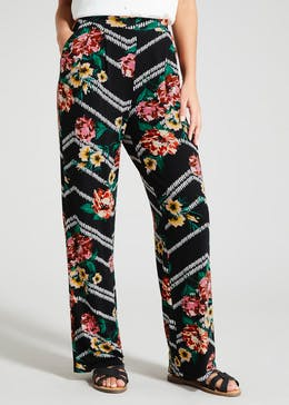 52ba434e3e9 Floral Stripe Wide Leg Trousers. New Arrivals. Floral Stripe Wide Leg  Trousers. £14.00. View · More Colours Available · Stripe Tiered Dress