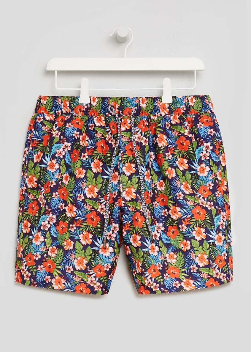 Tropical Floral Swim Shorts