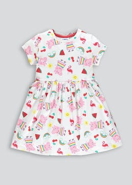 Girls Peppa Pig Skater Dress (12mths-5yrs)