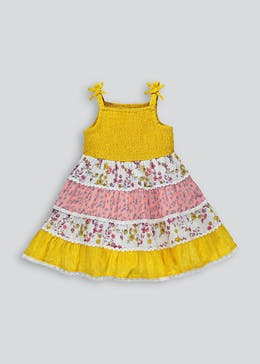 Girls Floral Tiered Dress (9mths-6yrs)