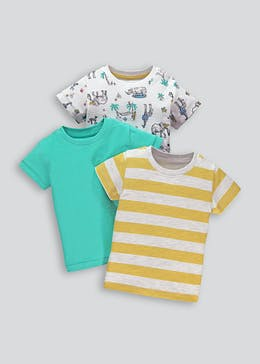 c1dd61aa T Shirts for Boys - Printed, Long Sleeve & Multi Pack T – Matalan