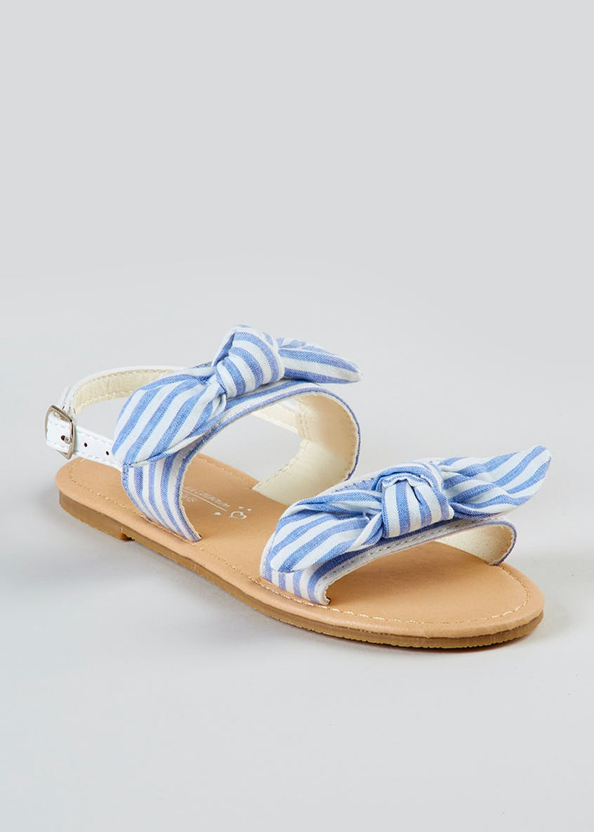 Girls Double Bow Sandals (Younger 10-Older 5)