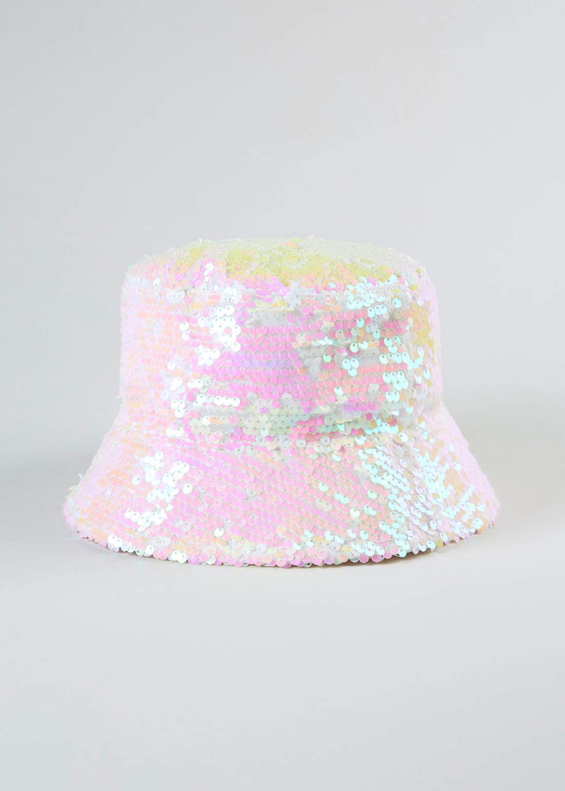 Girls Sequin Sun Hat (4-13yrs)