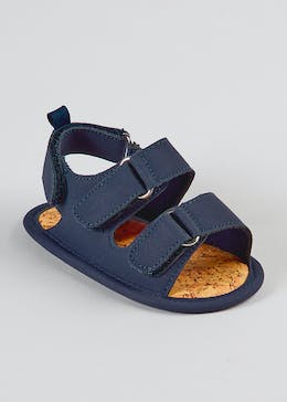Unisex Soft Sole Footbed Sandals (Newborn-18mths)