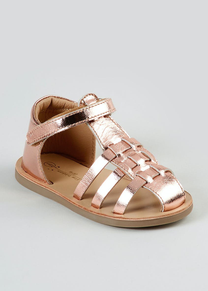 Girls 1st Walkers Caged Sandals (Younger 3-6)