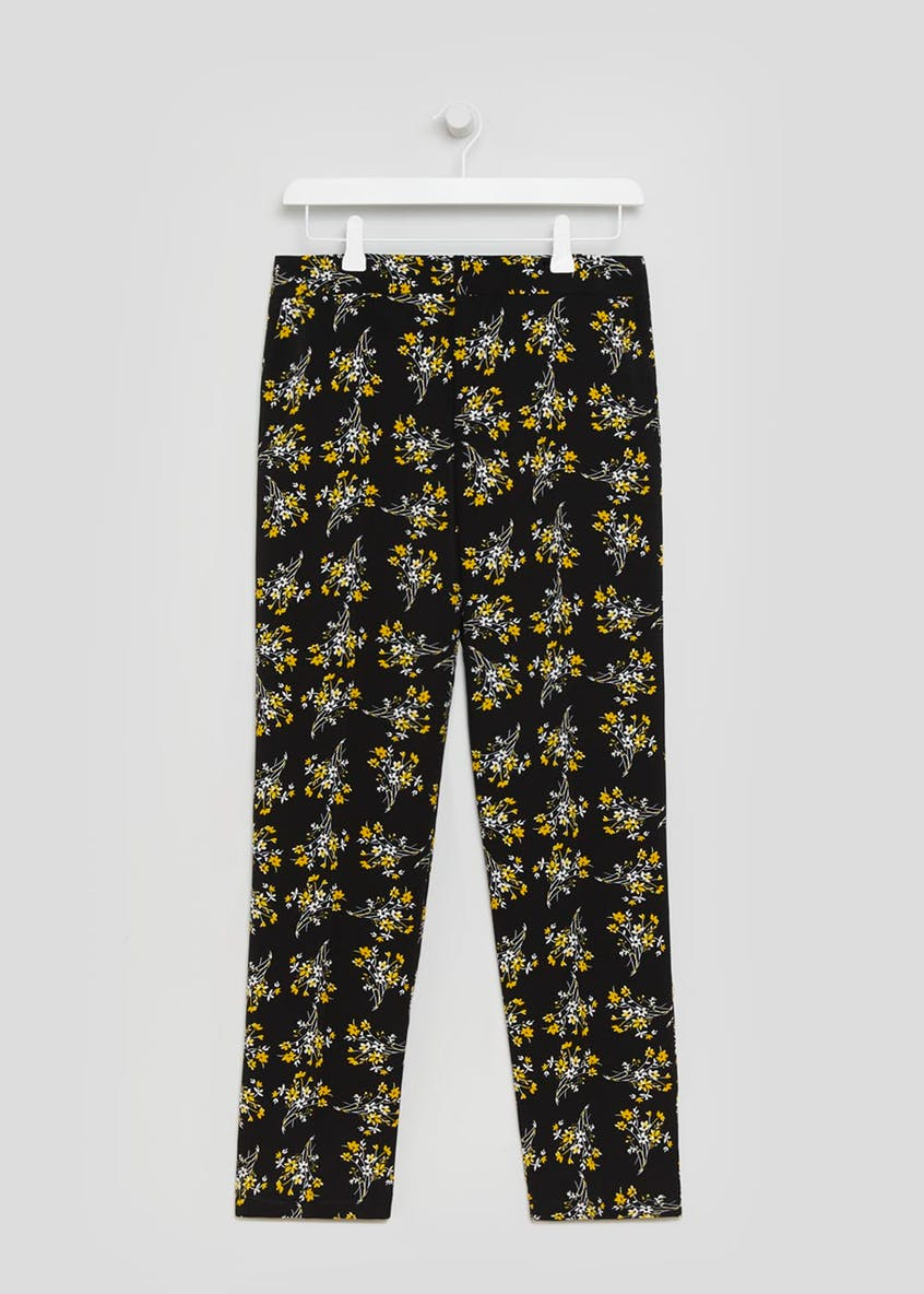 Ditsy Floral Tapered Trousers