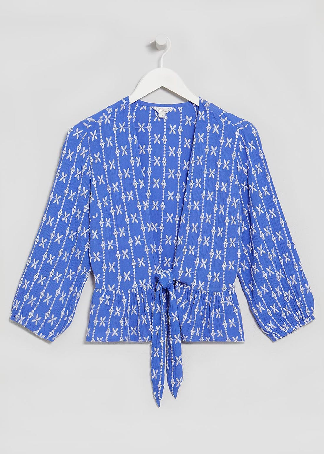 Falmer Embroidered Co-Ord Blouse