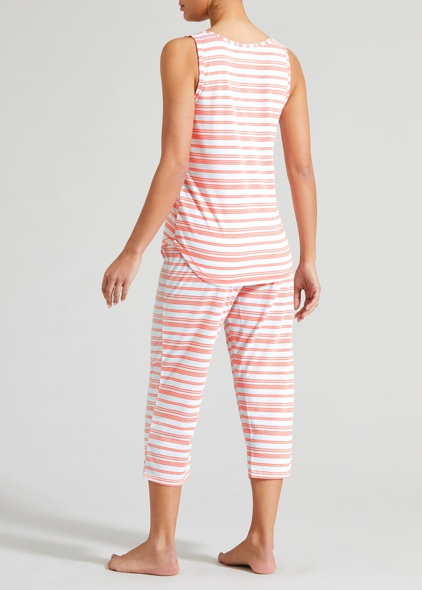 Stripe Capri Pyjama Set