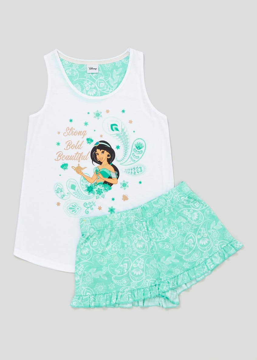 Disney Princess Jasmine Short Pyjama Set