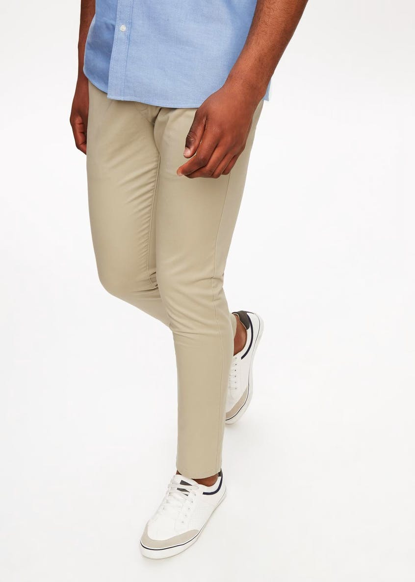 Slim Fit Stretch Chino Trousers
