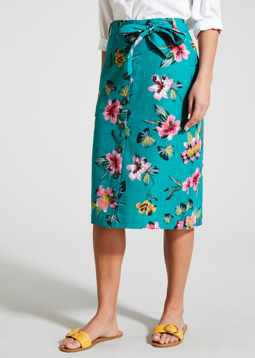 Floral Midi Co-Ord Skirt