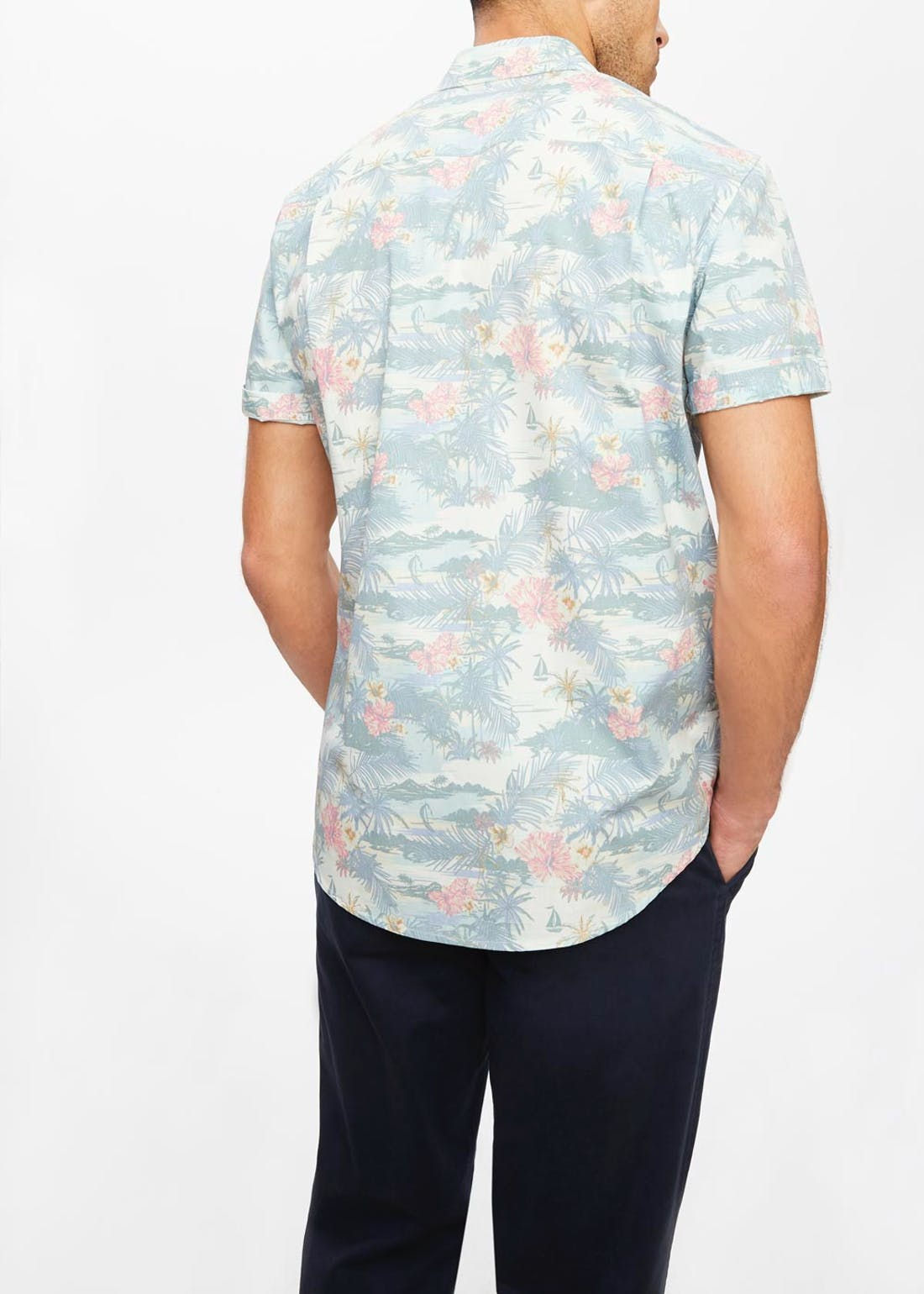 Lincoln Hawaiian Floral Shirt