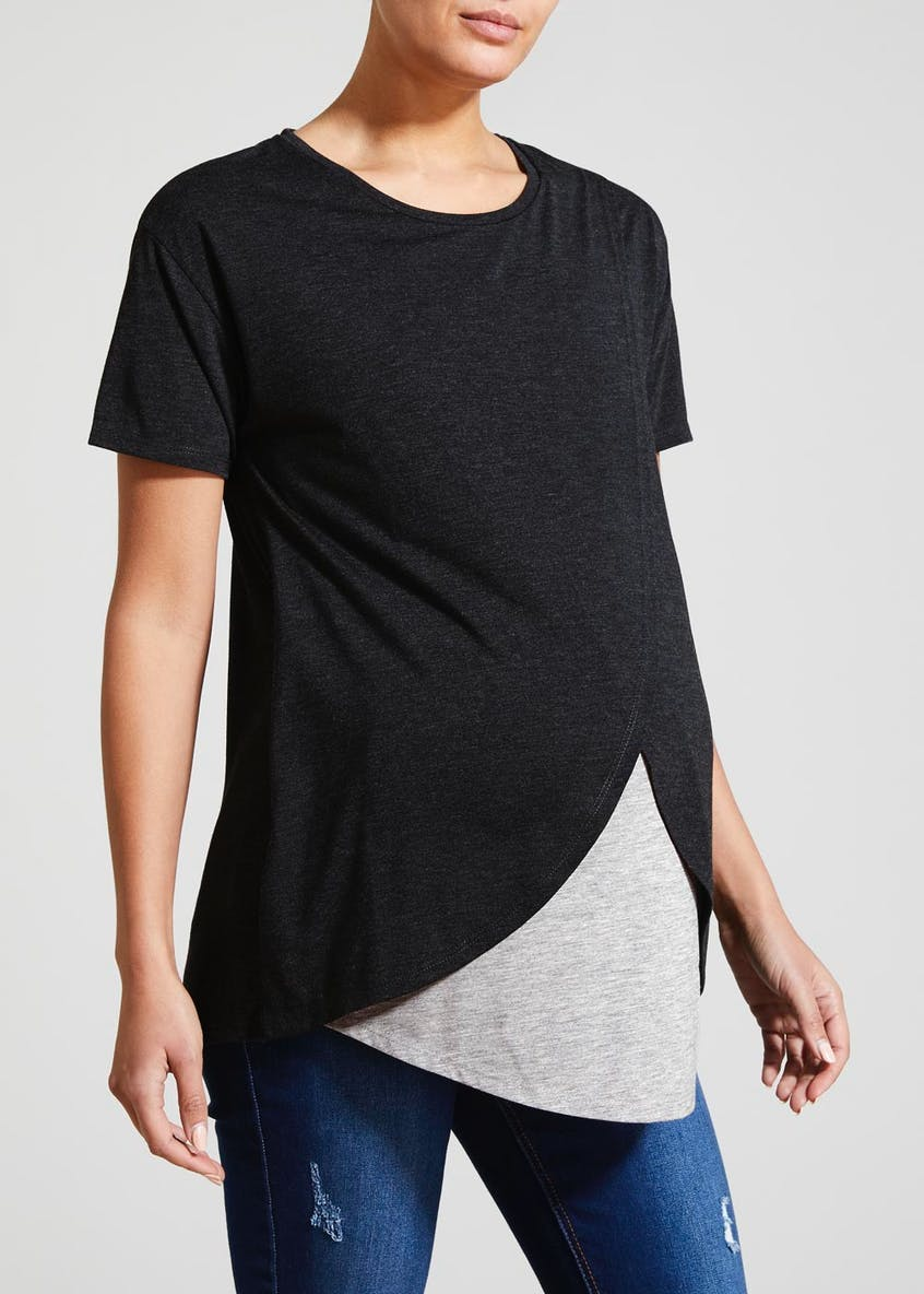 Maternity Wrap Nursing Top