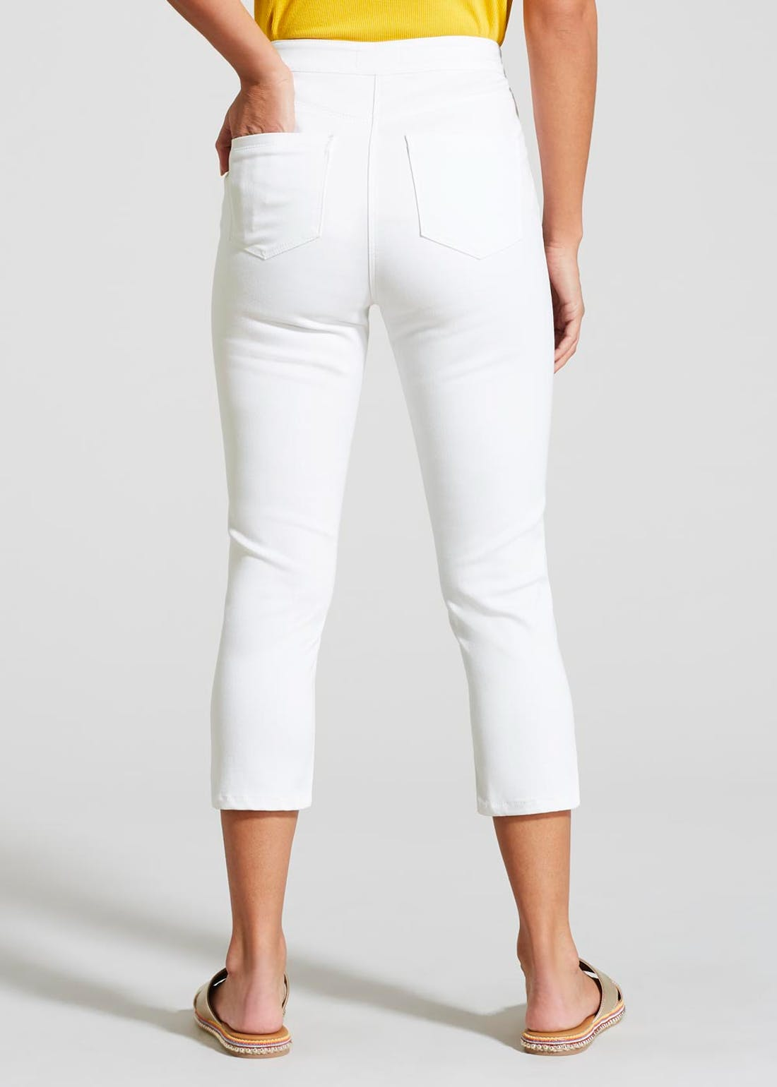 Jessie High Waisted Cropped Jeans