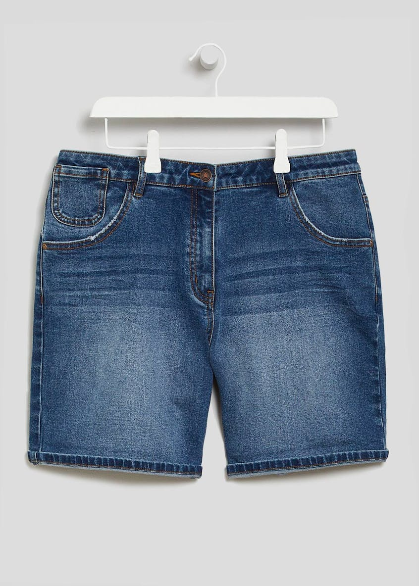 Papaya Curve Denim Shorts