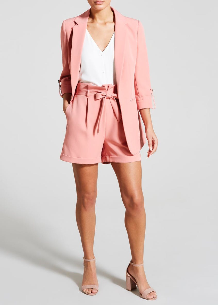 Belted Co-Ord Shorts