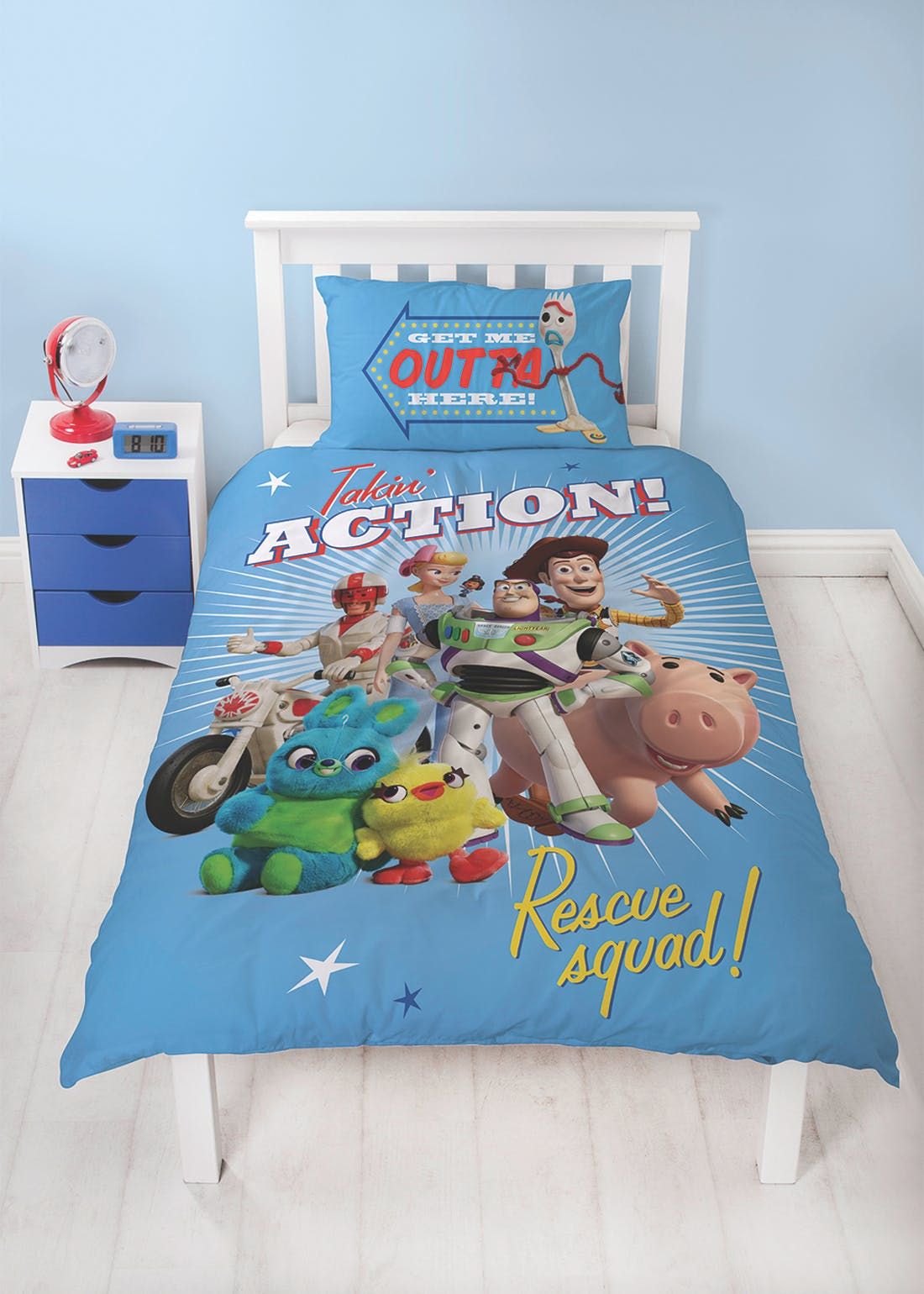 Kids Toy Story Duvet Cover (Single)