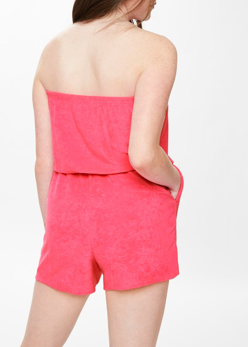 Girls Towelling Playsuit (9-16yrs)