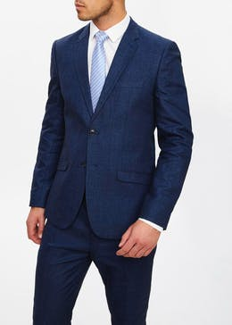 Bennet Linen Slim Fit Suit Jacket