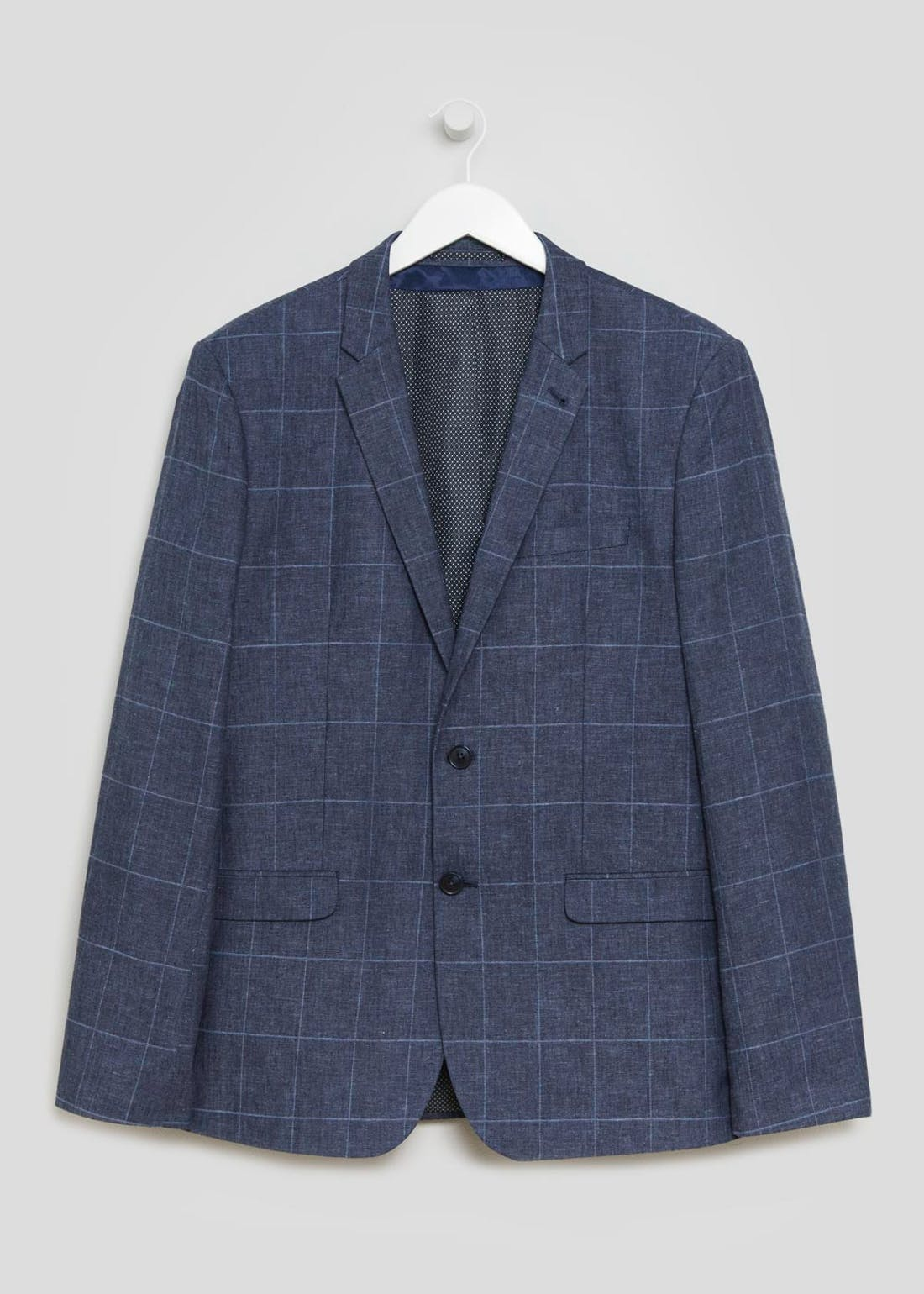 Taylor & Wright Navy Langdon Slim Fit Blazer