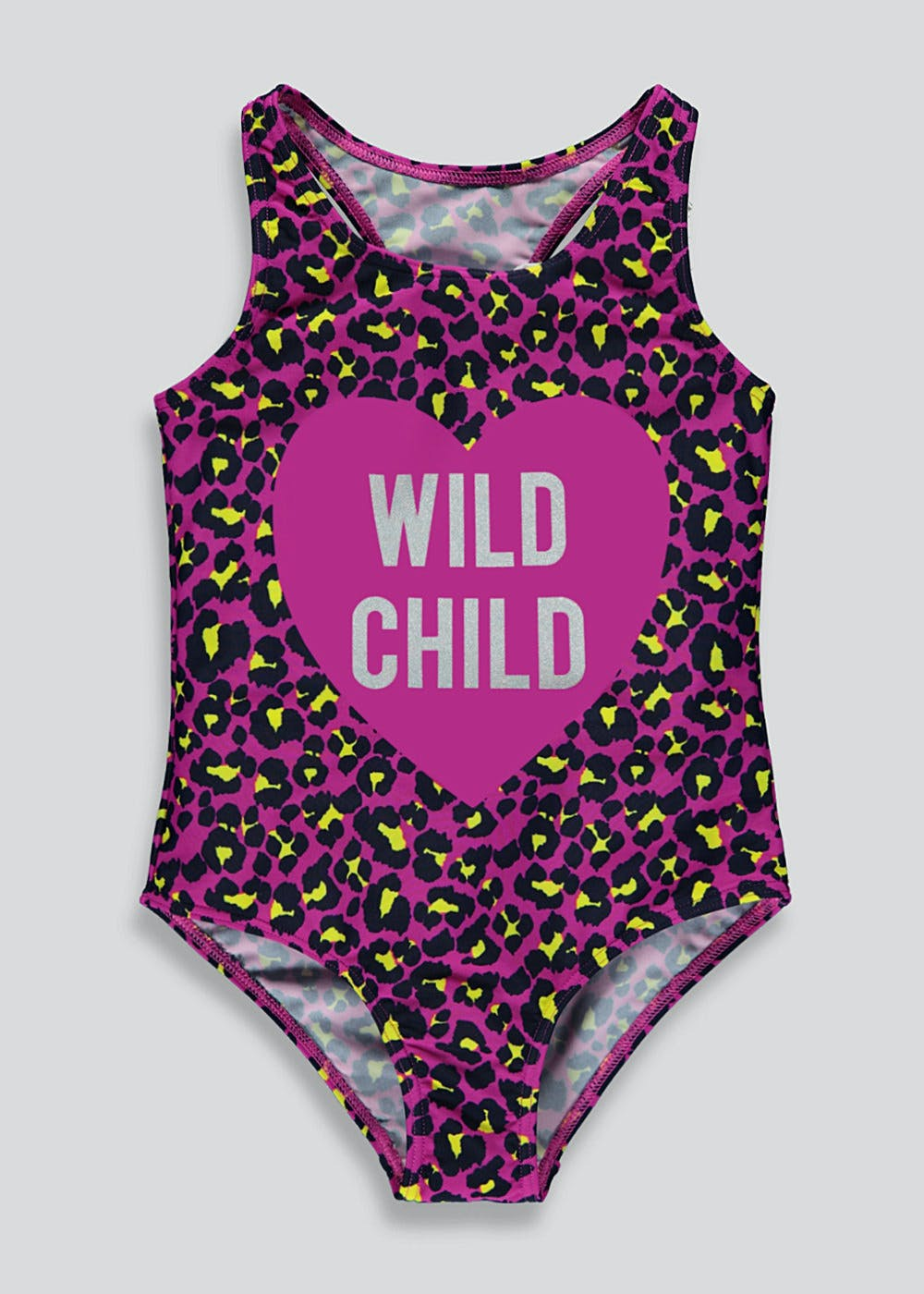 0b42ce363d39e Girls Wild Child Animal Print Swimming Costume (4-13yrs) – Multi ...
