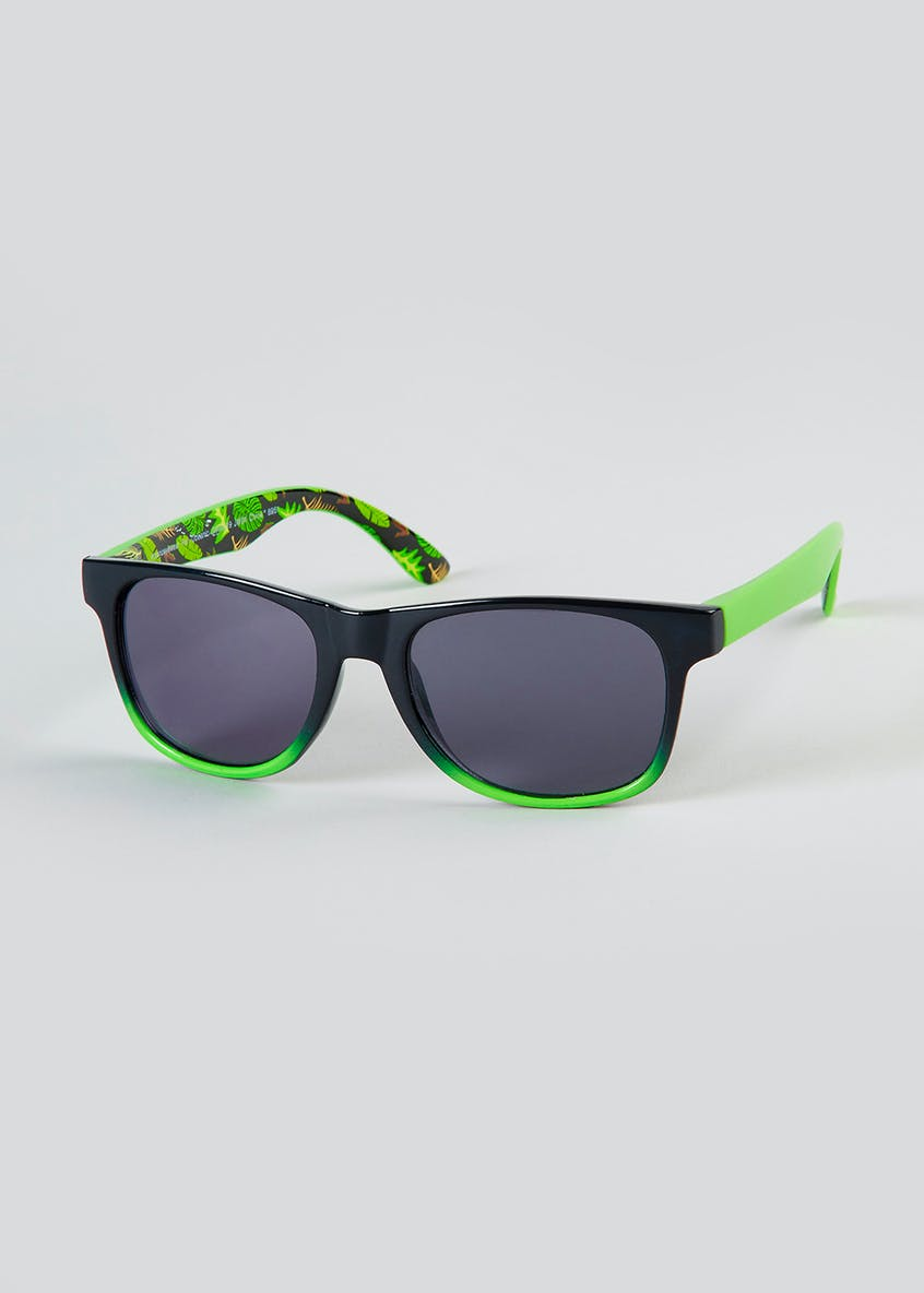 Kids Neon Palm Sunglasses (One Size)