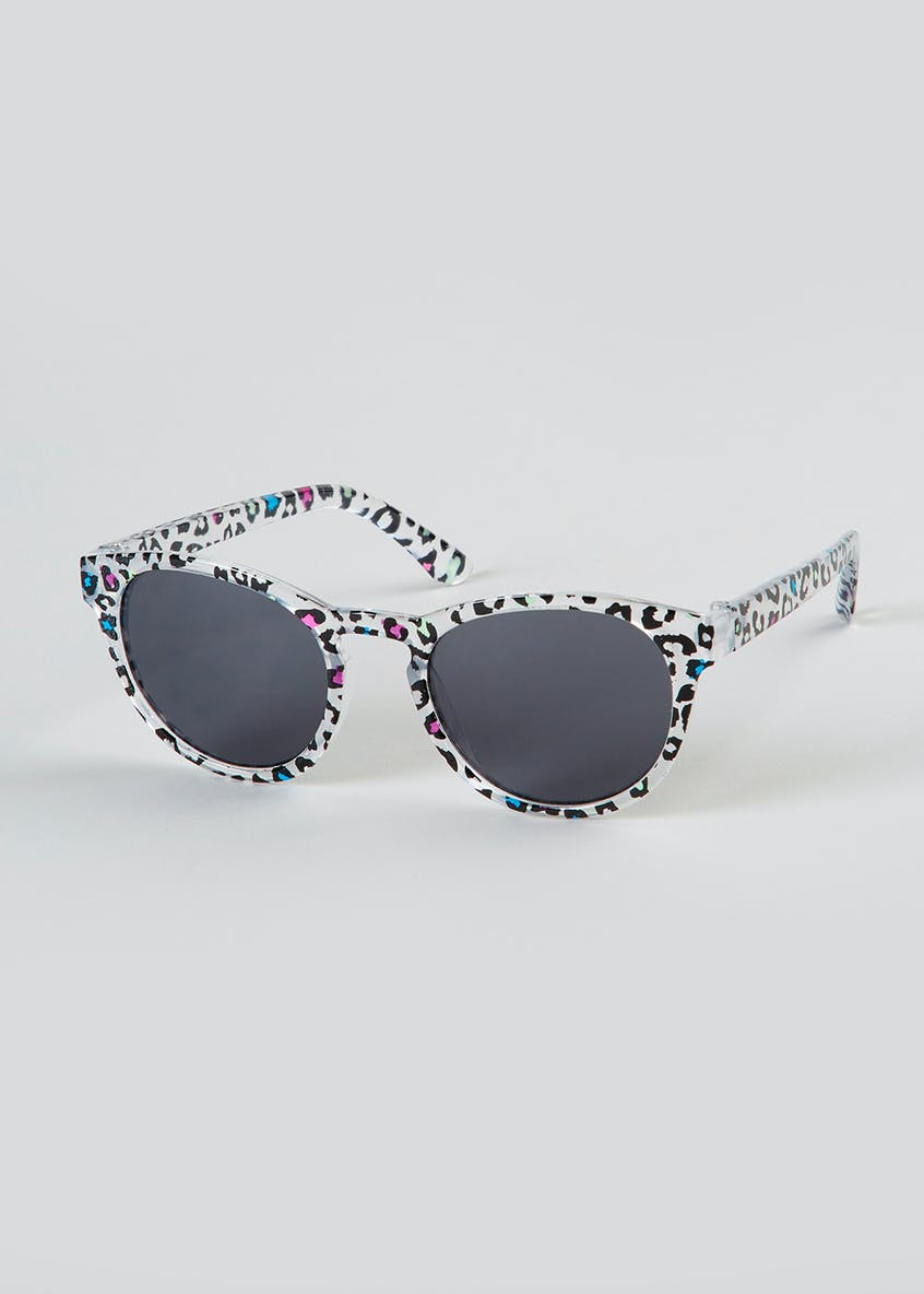 Kids Animal Print Sunglasses (One Size)