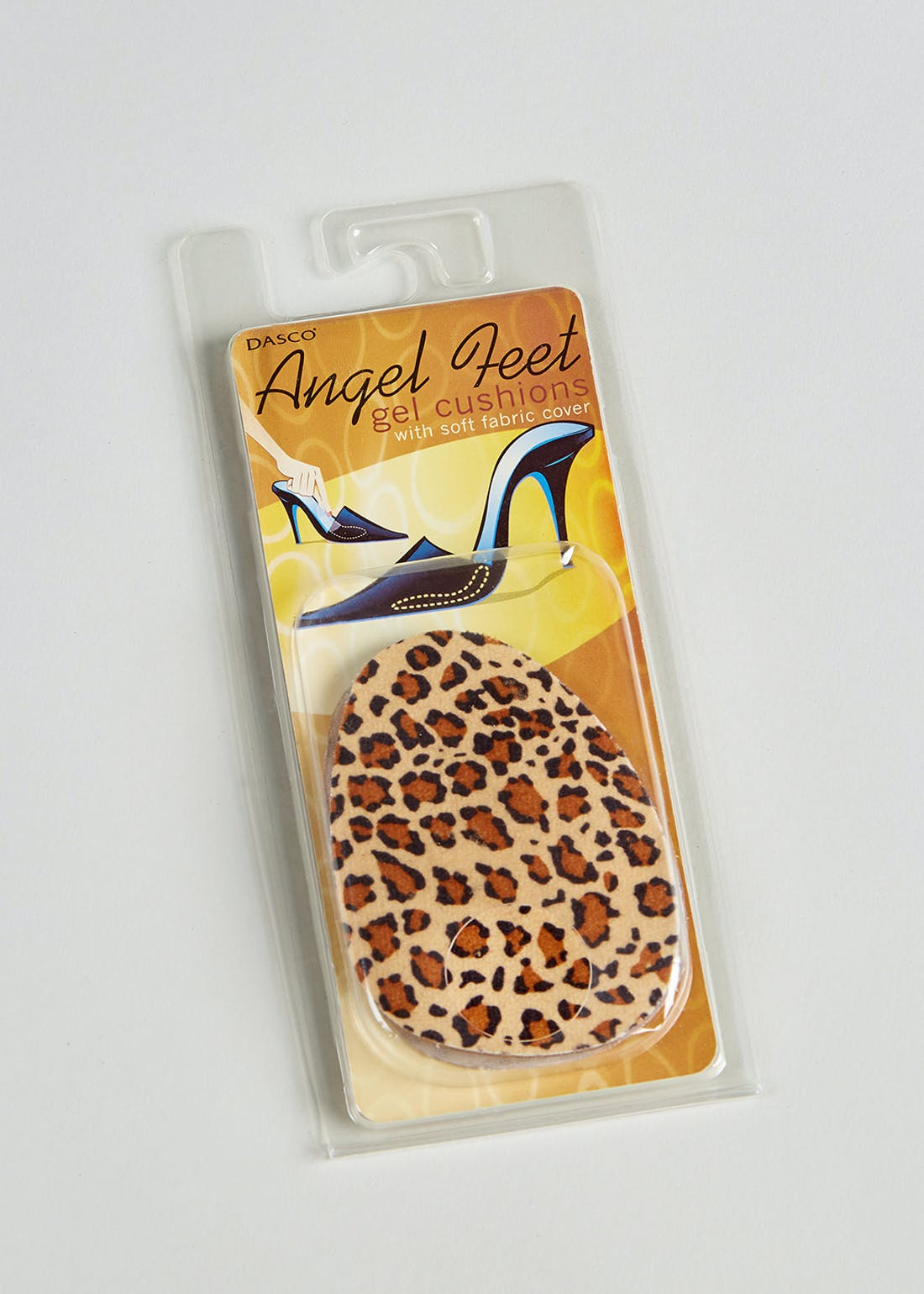 Dasco Angel Feet Leopard Gel Cushion Insoles